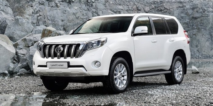 До России докатился Toyota Land Cruiser Prado в новой версии