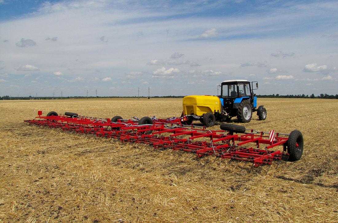 В Украине стали активнее производить сельхозтехнику