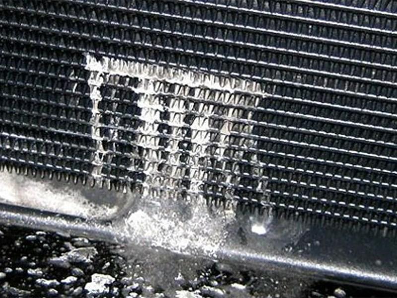 Как устранить течь радиатора?
