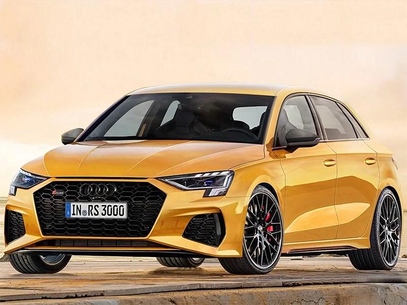 Новая Audi RS3 станет гибридом