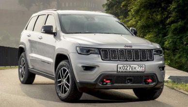 В России начали продавать «внедорожную» версию модели Jeep Grand Cherokee