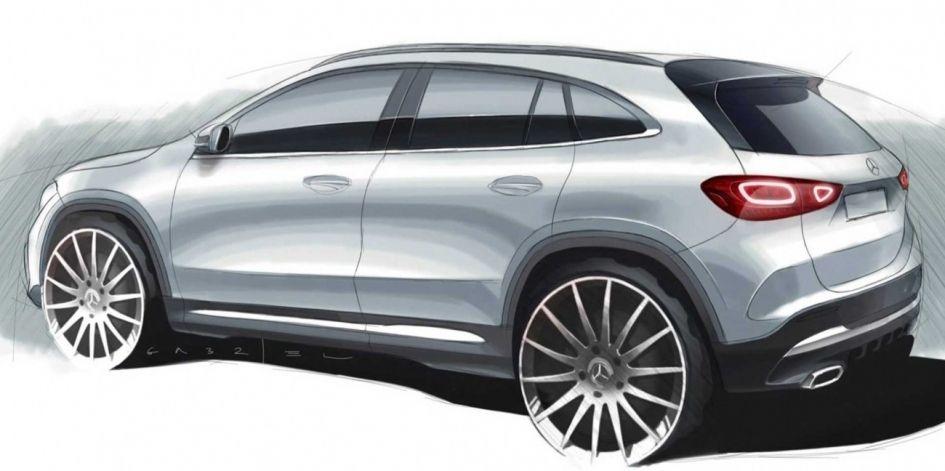 Рассекречен дизайн нового Mercedes-Benz GLA