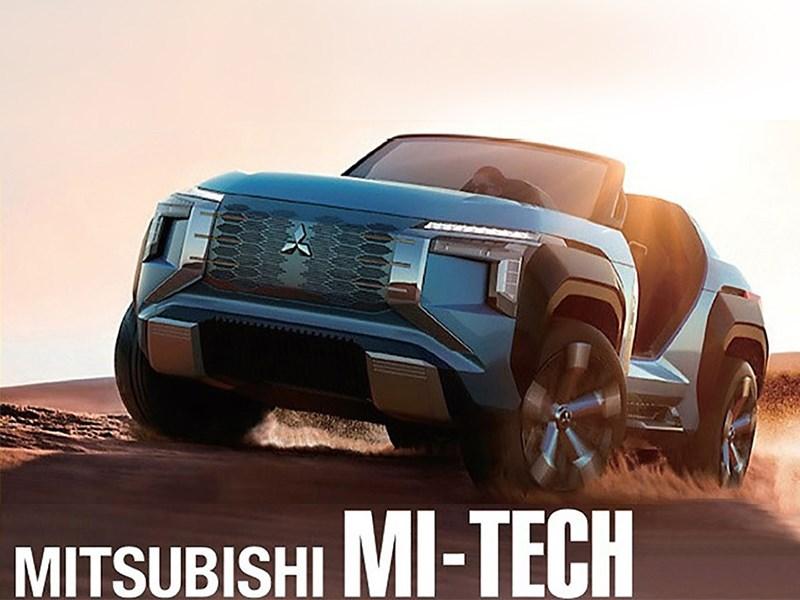 Уникальный кроссовер Mitsubishi раскрыли до дебюта