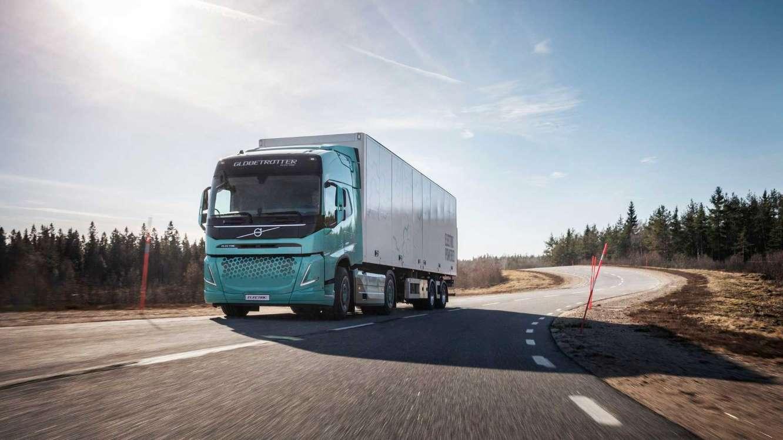 Volvo Trucks демонстрирует мощный концептуальный электрический грузовик