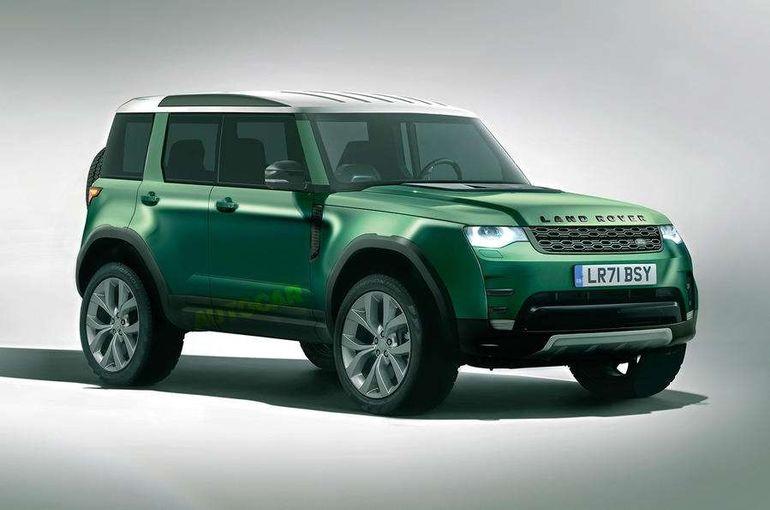 Самый дешевый Land Rover: дизайн как у Defender и платформа от Tata