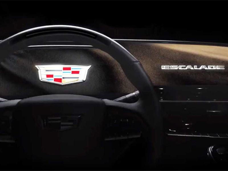 Новый Cadillac escalade получит огромный изогнутый дисплей