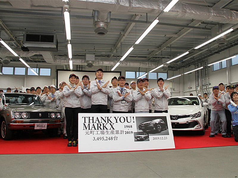 Прощай, Toyota Mark 2