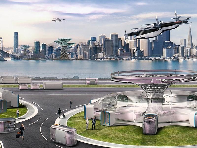 В Hyundai готовятся представить летающий автомобиль
