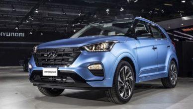 Роскошный Hyundai Creta получил планшеты для пассажиров