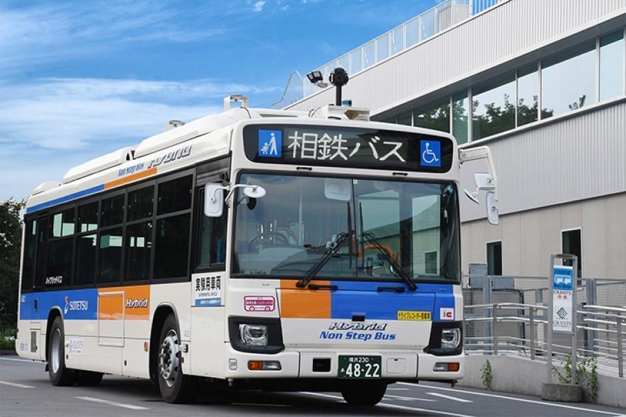 В Японии появился беспилотный рейсовый автобус