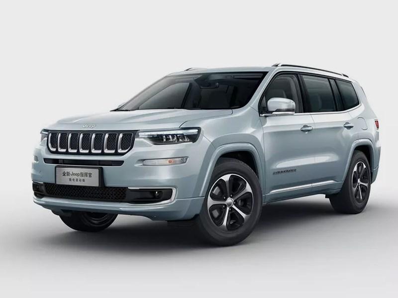Jeep представил трехмоторный внедорожник