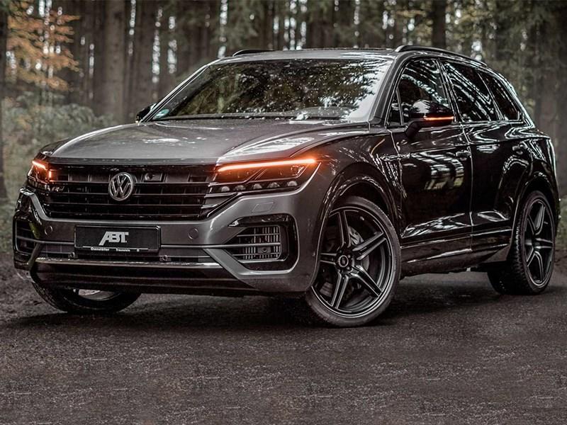 Дизельный Volkswagen Touareg «подогрели»