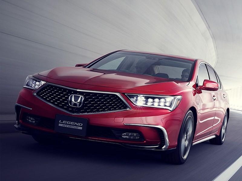 Новая Honda Legend станет беспилотником