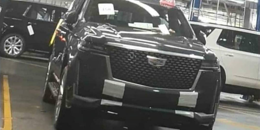 Дизайн нового Cadillac Escalade рассекретили до премьеры