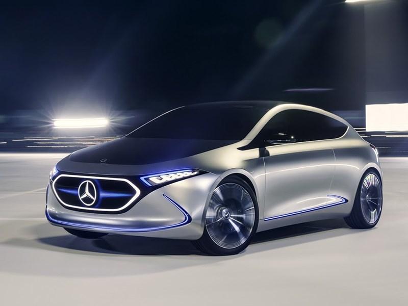 Mercedes выпустит экологический кроссовер