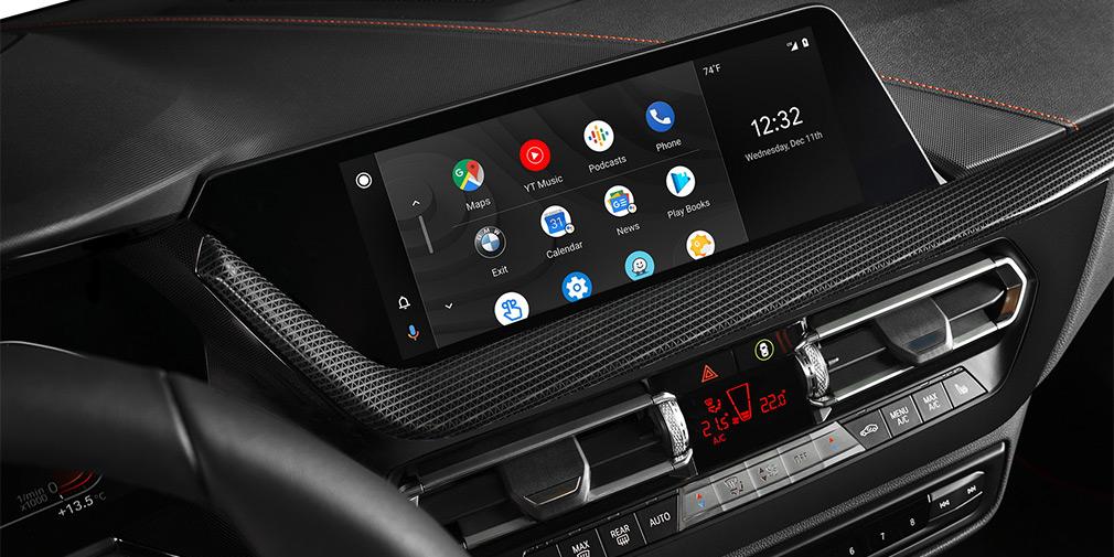 Все автомобили BMW получат поддержку Android Auto