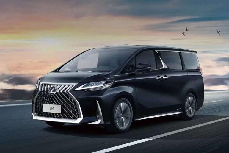 Первый минивэн Lexus: двигатель от Камри и цена как у Майбаха