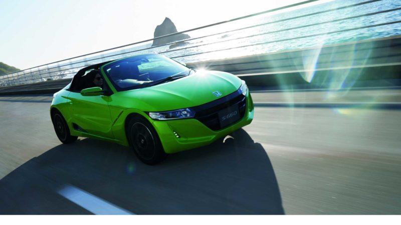 Honda освежила родстер S660