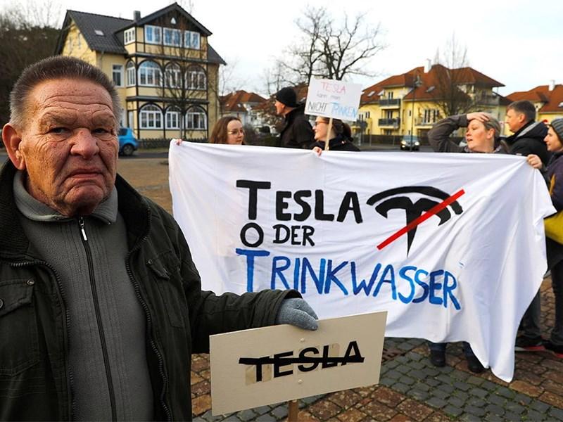Tesla крадет воду у Германии