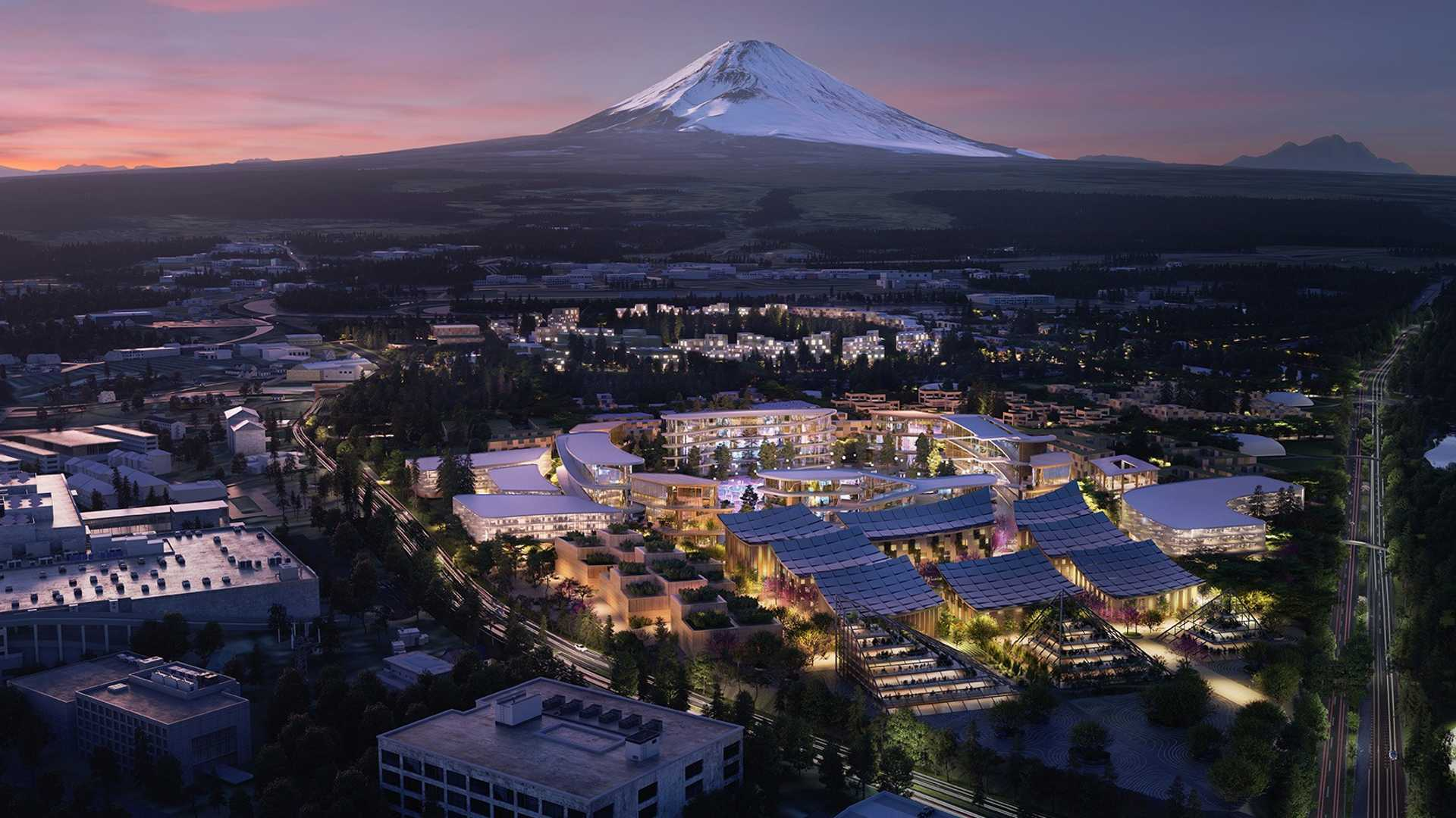 Toyota построит собственный город