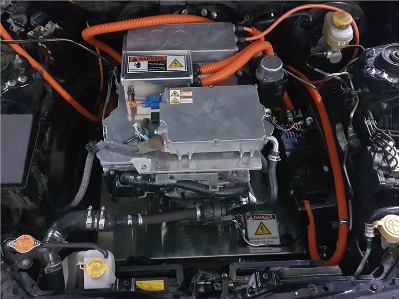 Toyota GT86 была электрифицирована