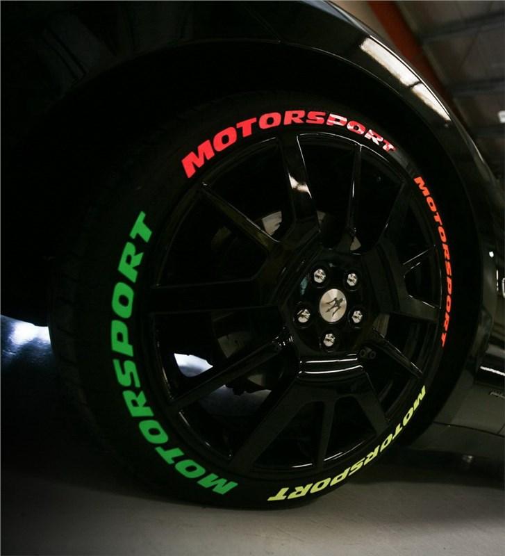 Как покрасить шины?