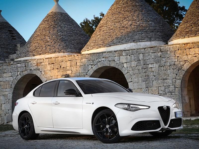 Alfa Romeo зарядит Giulia
