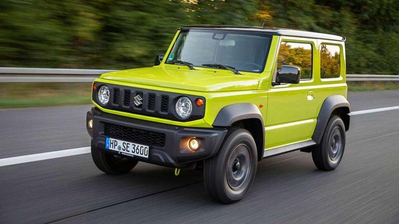 Suzuki сделает из Jimny грузовик