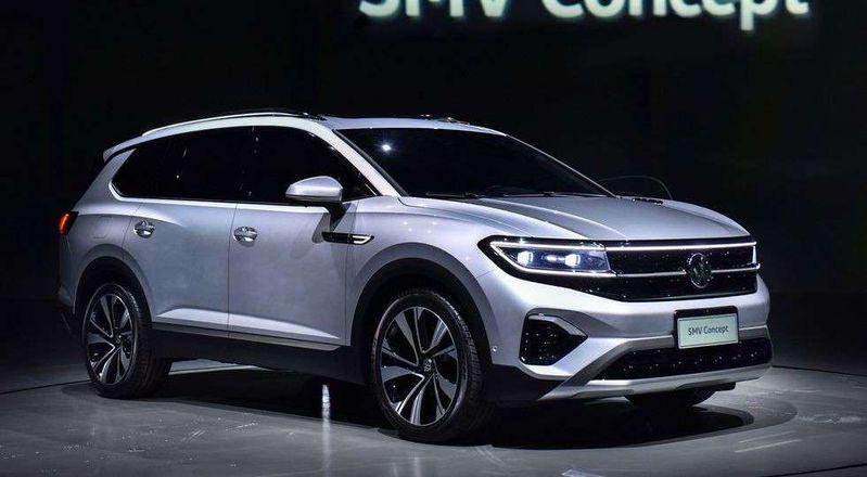 Самый большой кроссовер Volkswagen: 7 мест и новый турбомотор