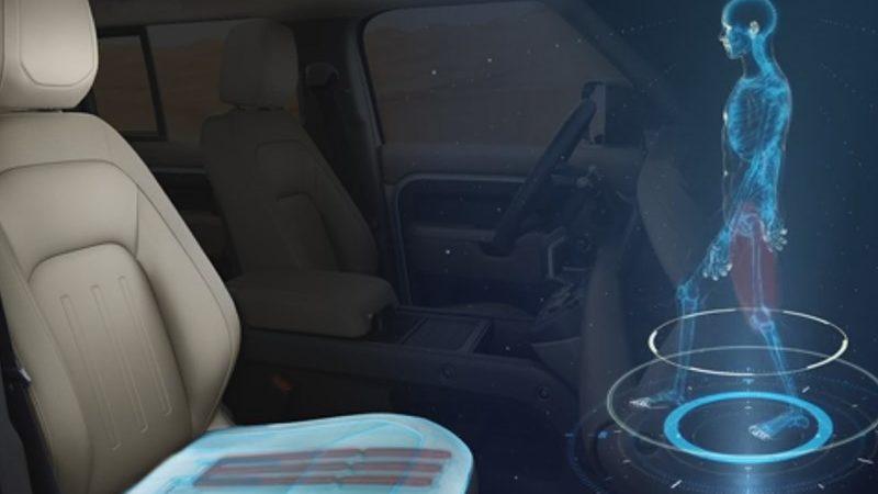 Кресла в автомобилях Jaguar Land Rover смогут ходить