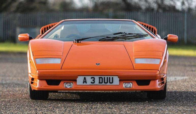 Уникальный Lamborghini Countach продадут с молотка