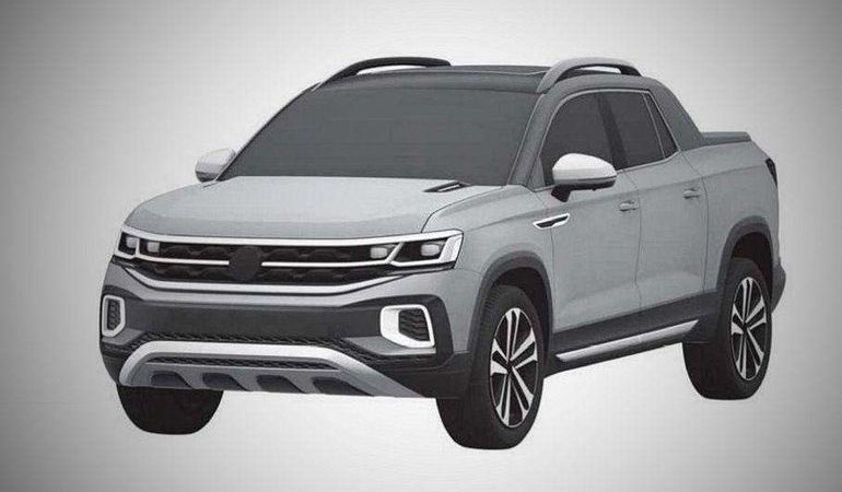 Новый пикап Volkswagen: нестандартный дизайн и начинка от Tiguan
