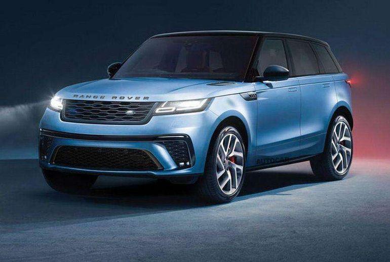 Новый Range Rover Sport: элегантный дизайн и электрическая версия