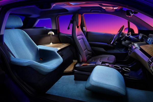 BMW i3 EV получает буги-салон на CES