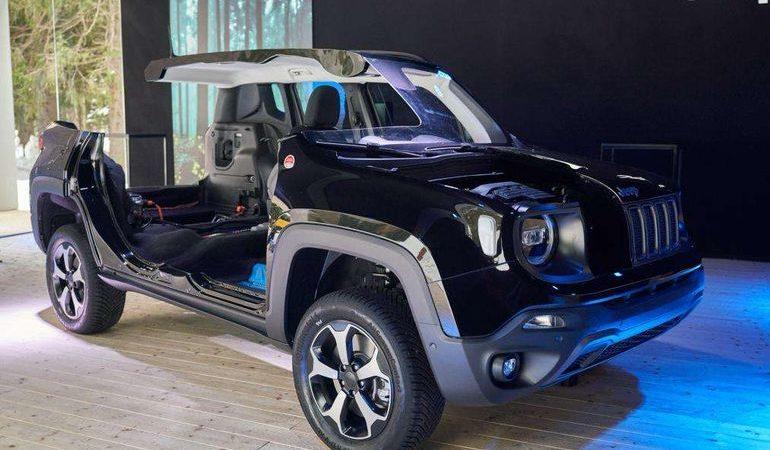 Jeep представил самые инновационные модели в истории