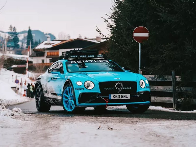 Bentley Сontinental GT превращается в кроссовер