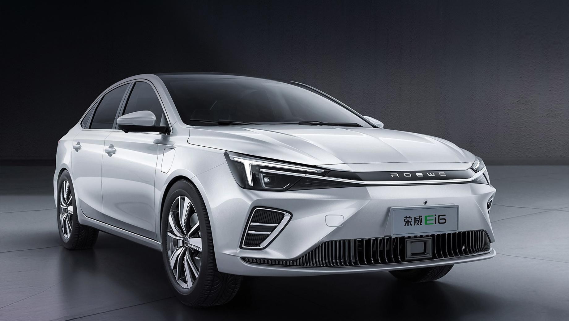 Китайский седан Roewe i6 перевели на электротягу