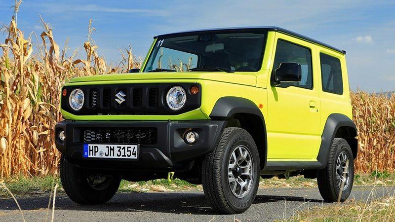 Suzuki Jimny повторяет путь УАЗа
