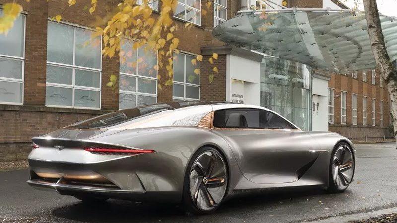 Электромобиль Bentley: ждать минимум лет пять