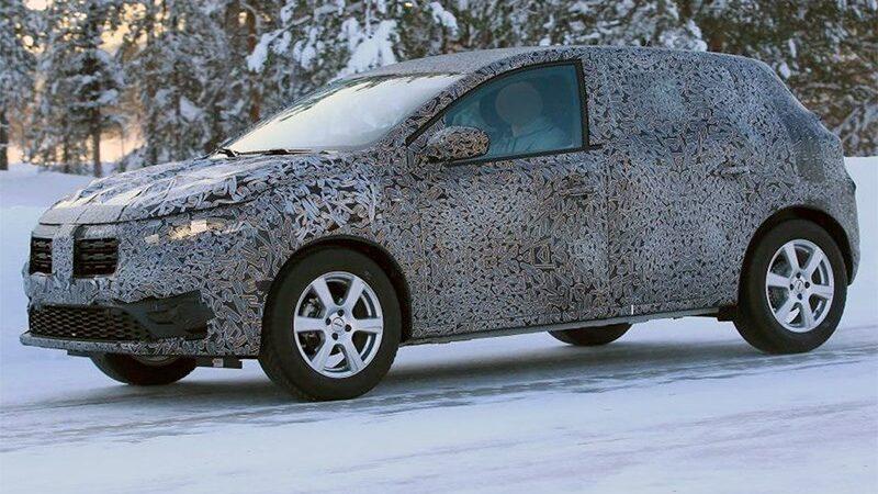 В Renault начали испытывать новый Sandero