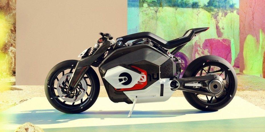 BMW работает над радикальным электро-мотоциклом
