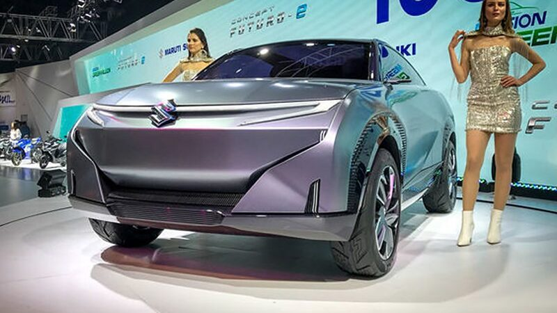 Suzuki выпустит футуристичный кроссовер