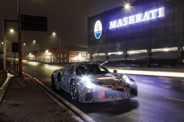 Maserati назвала имя нового флагманского суперкара