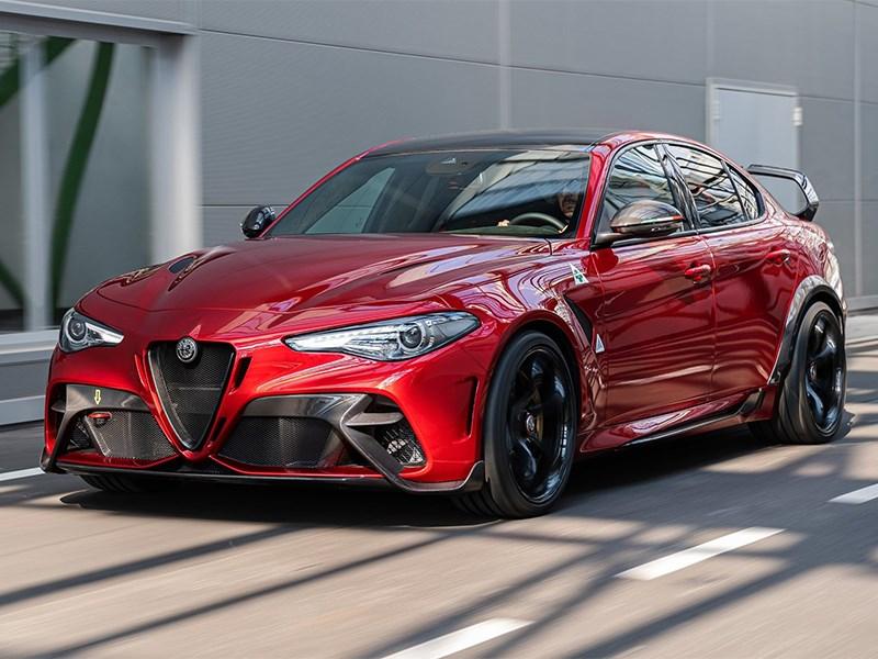 Рассекречена самая мощная версия Alfa Romeo Giulia