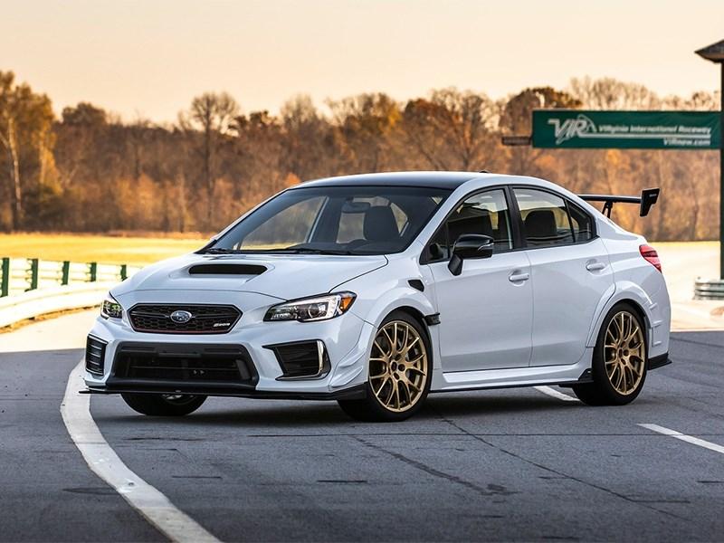Subaru WRX STI: подробности