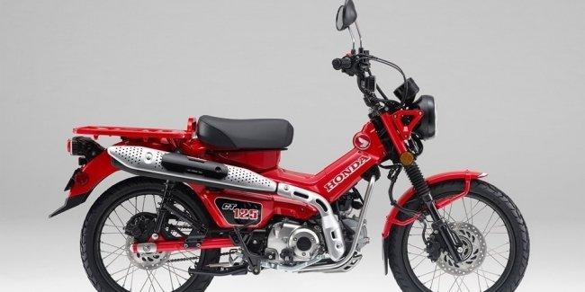 Honda официально представила минибайк Honda CT125 Hunter Cub 2021
