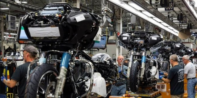 Harley-Davidson приостановил производство до 29 марта
