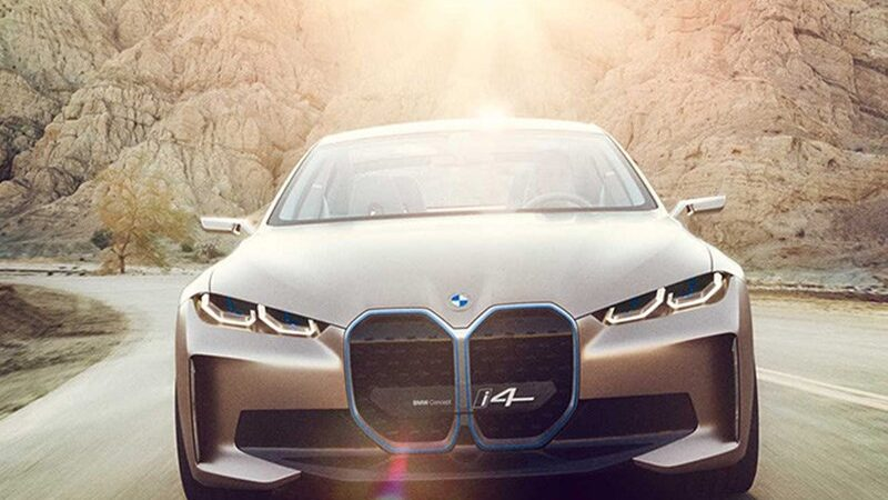 В BMW представили концепт I4