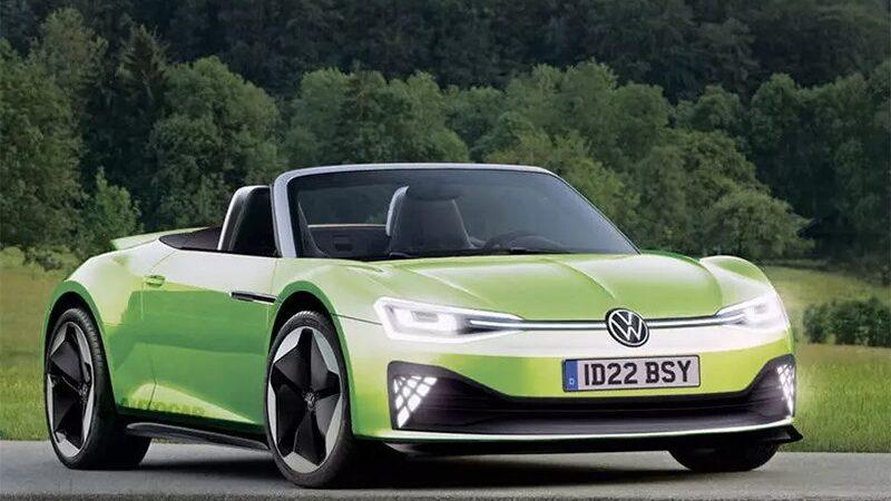 Volkswagen готовится презентовать уникальный электрический спорткар