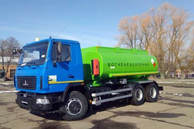 Украинский завод запустил серийное производство топливозаправщиков на базе МАЗ